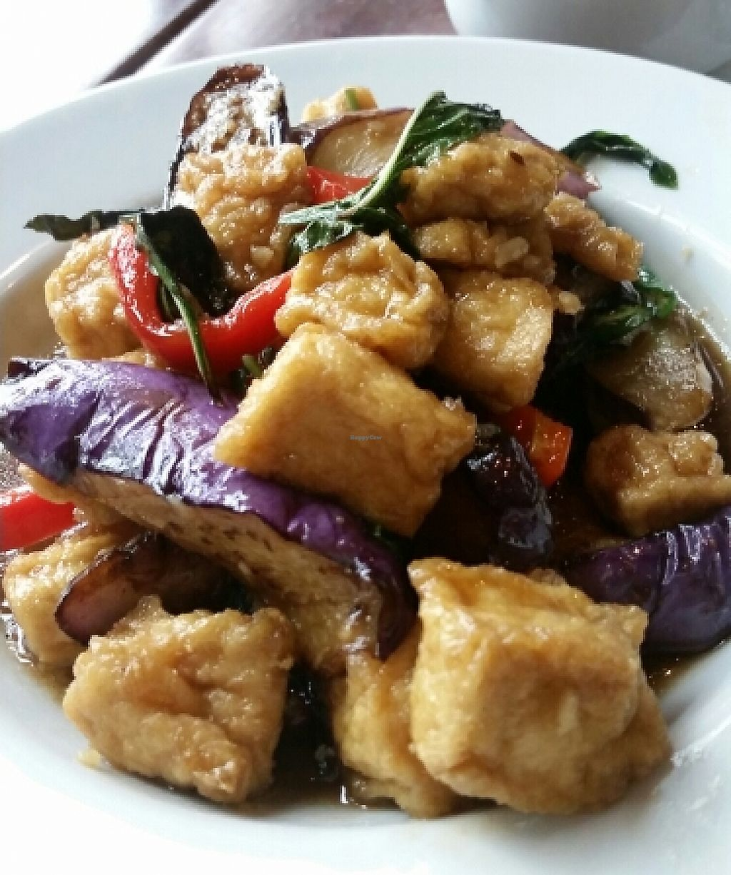 "Photo of Sabai Sabai Simply Thai  by <a href=""/members/profile/lazylimabean"">lazylimabean</a> <br/>Chili Eggplant Tofu <br/> May 21, 2016  - <a href='/contact/abuse/image/35838/202052'>Report</a>"