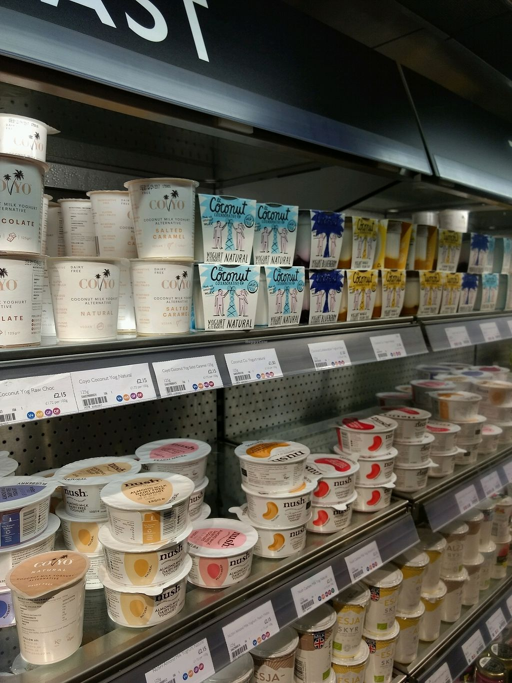 """Photo of Planet Organic - Torrington Place  by <a href=""""/members/profile/craigmc"""">craigmc</a> <br/>dairy free <br/> September 6, 2017  - <a href='/contact/abuse/image/3583/301406'>Report</a>"""