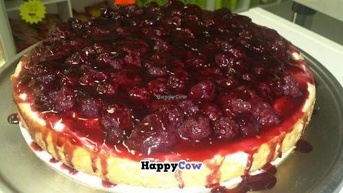 """Photo of CLOSED: Peace Pies  by <a href=""""/members/profile/vegan%20louise"""">vegan louise</a> <br/>Mixed berry raw cheesecake <br/> August 17, 2013  - <a href='/contact/abuse/image/35843/53436'>Report</a>"""