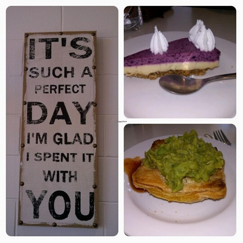 """Photo of CLOSED: Peace Pies  by <a href=""""/members/profile/Glenn2go"""">Glenn2go</a> <br/>Peace Pies - Beautiful atmosphere, nice pies & delicious raw desserts <br/> May 11, 2014  - <a href='/contact/abuse/image/35843/69843'>Report</a>"""