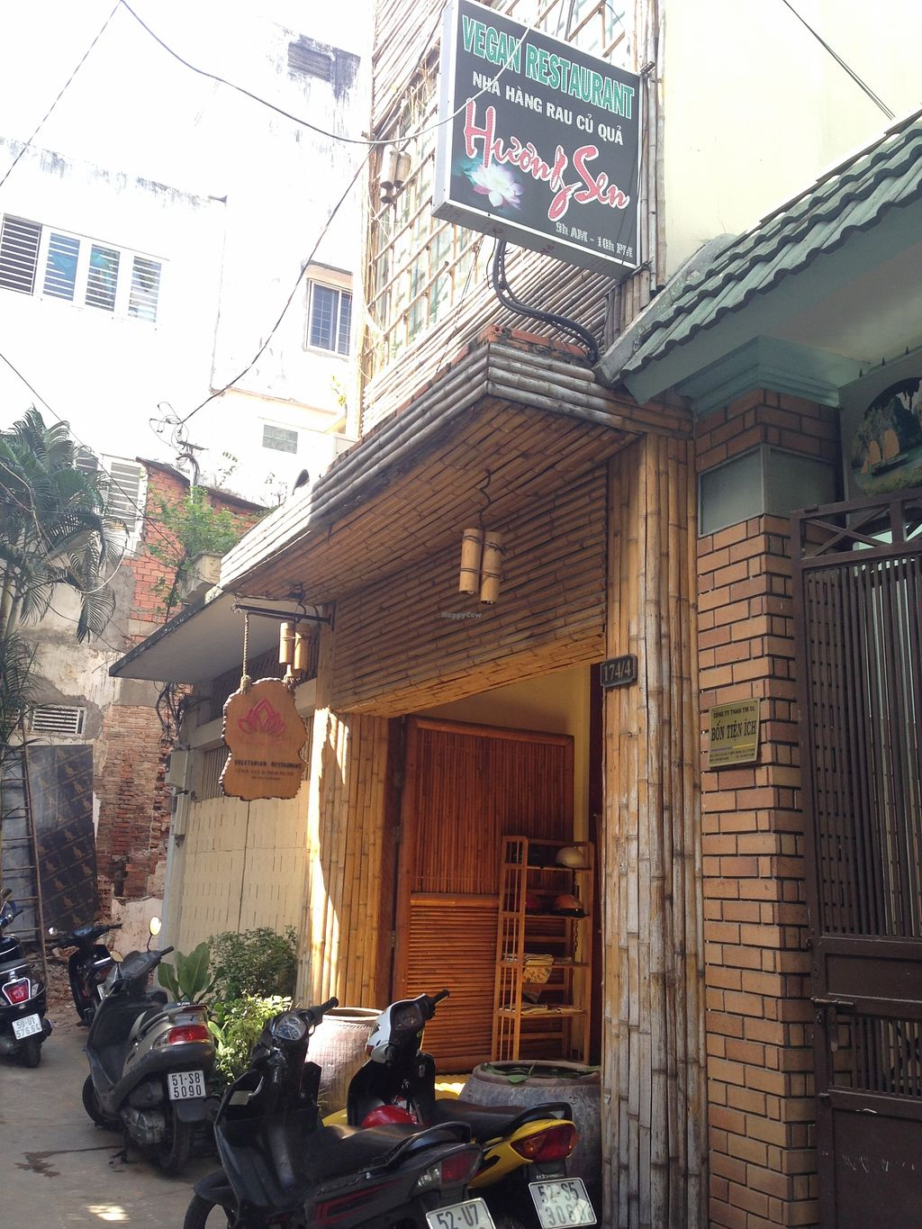 """Photo of Huong Sen Vegetarian - Bui Vien St  by <a href=""""/members/profile/Stevie"""">Stevie</a> <br/>2015 old location <br/> September 27, 2015  - <a href='/contact/abuse/image/35854/119287'>Report</a>"""