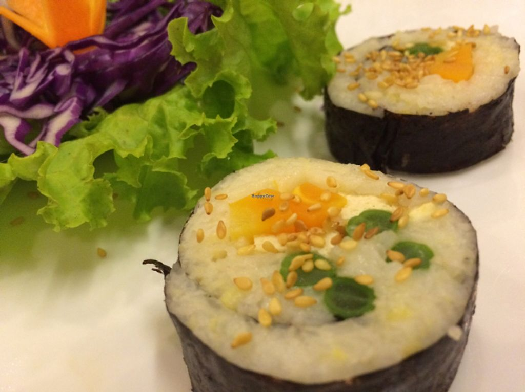 """Photo of Huong Sen Vegetarian - Bui Vien St  by <a href=""""/members/profile/Siup"""">Siup</a> <br/>sushi  <br/> December 19, 2015  - <a href='/contact/abuse/image/35854/129048'>Report</a>"""