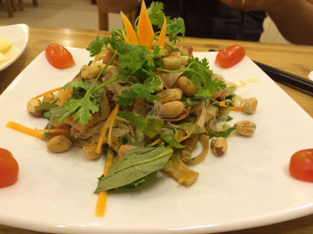 """Photo of Huong Sen Vegetarian - Bui Vien St  by <a href=""""/members/profile/Siup"""">Siup</a> <br/>d <br/> December 19, 2015  - <a href='/contact/abuse/image/35854/129053'>Report</a>"""
