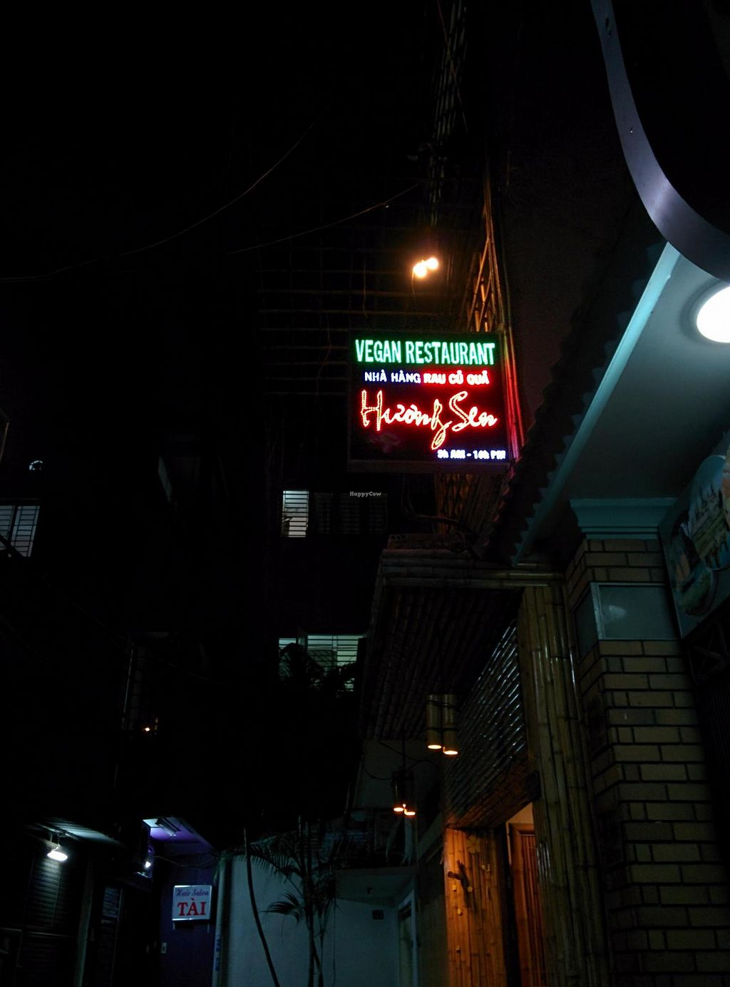 """Photo of Huong Sen Vegetarian - Bui Vien St  by <a href=""""/members/profile/philjdomm"""">philjdomm</a> <br/>2014 old location <br/> May 12, 2014  - <a href='/contact/abuse/image/35854/69853'>Report</a>"""