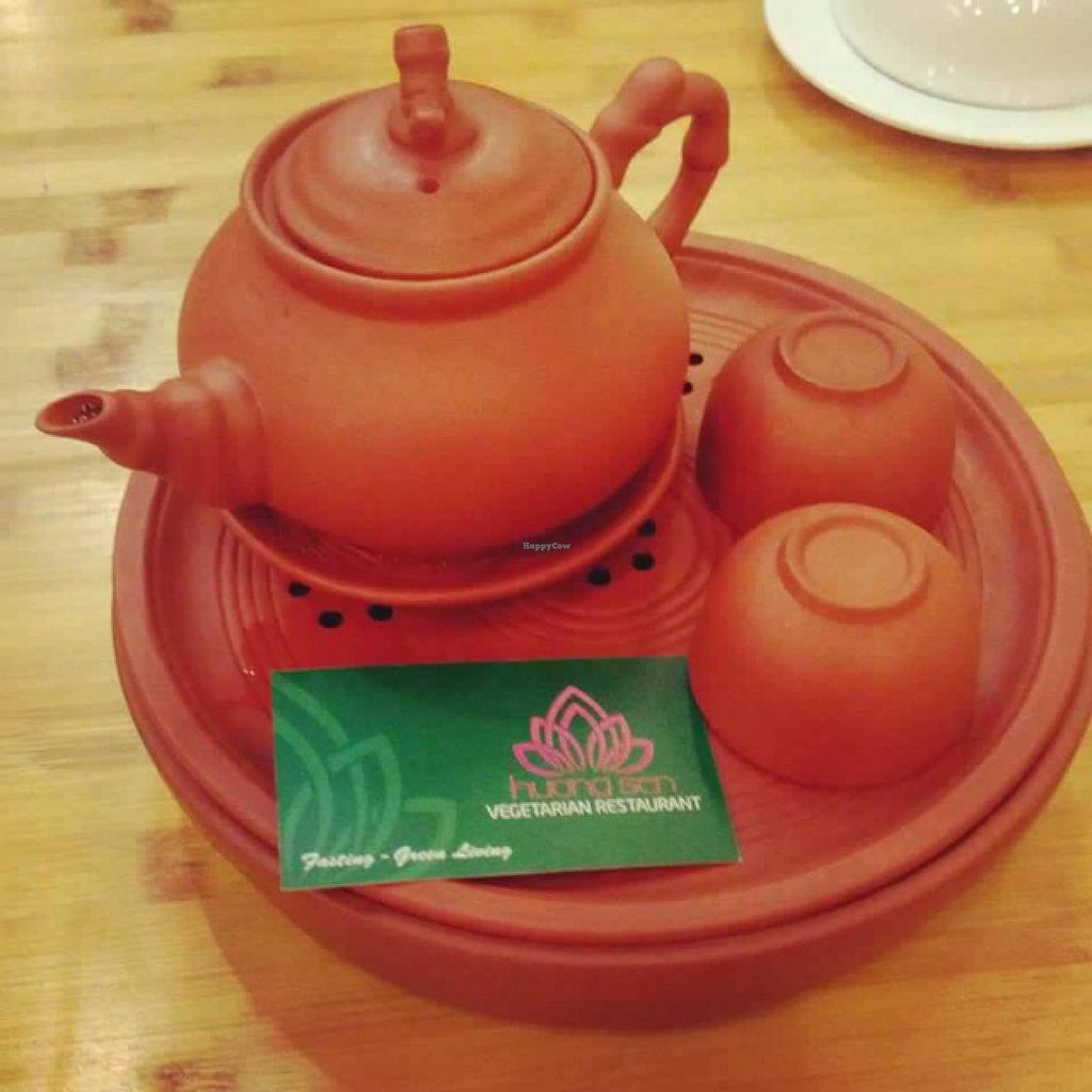 """Photo of Huong Sen Vegetarian - Bui Vien St  by <a href=""""/members/profile/Ellie143"""">Ellie143</a> <br/>Fresh Vietnamese Tea <br/> February 2, 2015  - <a href='/contact/abuse/image/35854/92038'>Report</a>"""