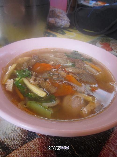 """Photo of Vegan Thai Food Stalls  by <a href=""""/members/profile/Kalorienbombe"""">Kalorienbombe</a> <br/>Noodle Soup <br/> June 29, 2013  - <a href='/contact/abuse/image/35874/50429'>Report</a>"""