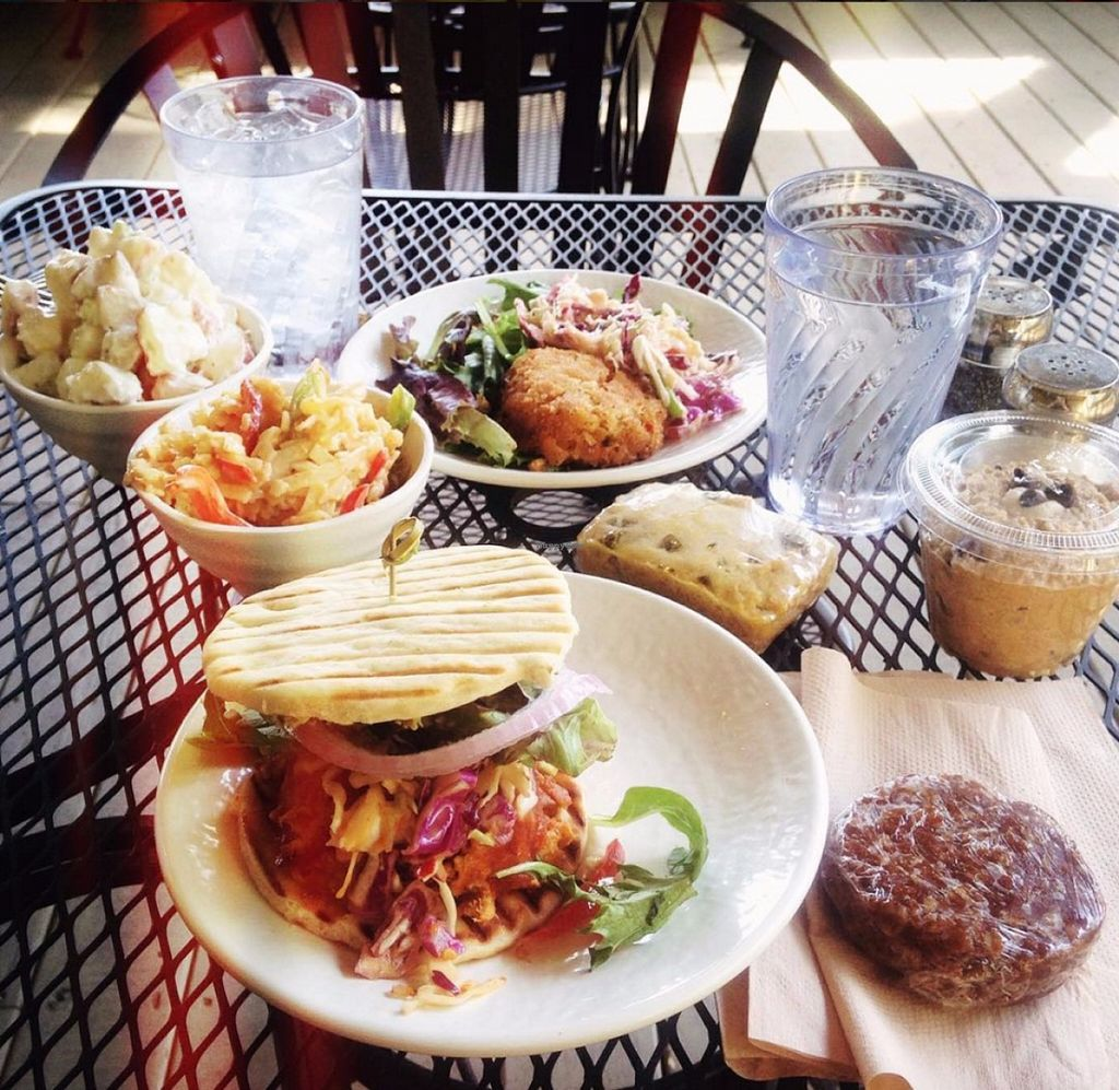"""Photo of Sunflower Cafe  by <a href=""""/members/profile/Raesock"""">Raesock</a> <br/>Delicious lunch.  <br/> June 24, 2016  - <a href='/contact/abuse/image/35881/155858'>Report</a>"""