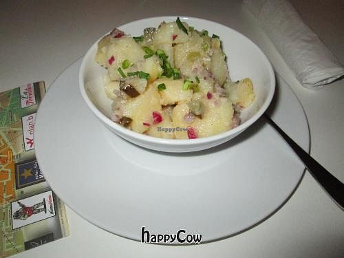 "Photo of VEG Deli  by <a href=""/members/profile/J-Veg"">J-Veg</a> <br/>Polish potato salad with finely chopped red onion and gherkin <br/> January 28, 2013  - <a href='/contact/abuse/image/35882/43441'>Report</a>"