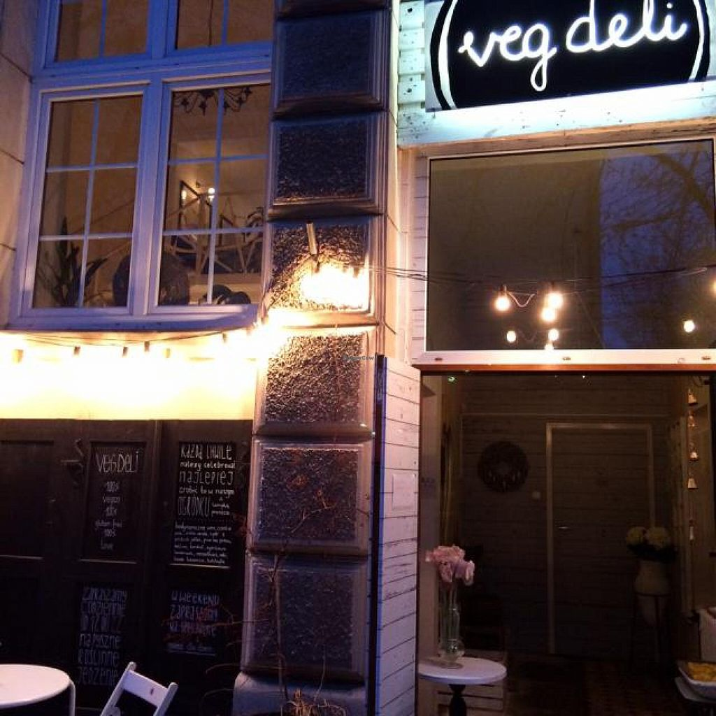 "Photo of VEG Deli  by <a href=""/members/profile/krismausser"">krismausser</a> <br/>An oasis in a sea of gluten & meat <br/> April 7, 2014  - <a href='/contact/abuse/image/35882/67213'>Report</a>"