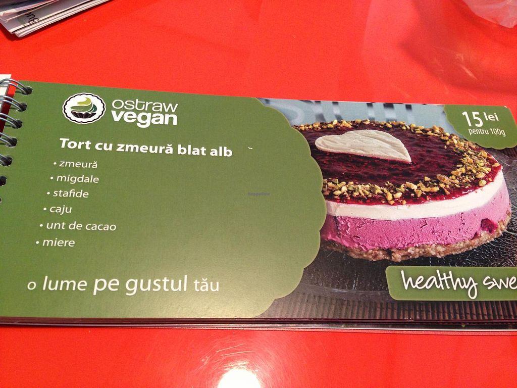 "Photo of Ostraw Vegan  by <a href=""/members/profile/veggieriga"">veggieriga</a> <br/>description of dessert including honey <br/> January 13, 2014  - <a href='/contact/abuse/image/35885/62436'>Report</a>"