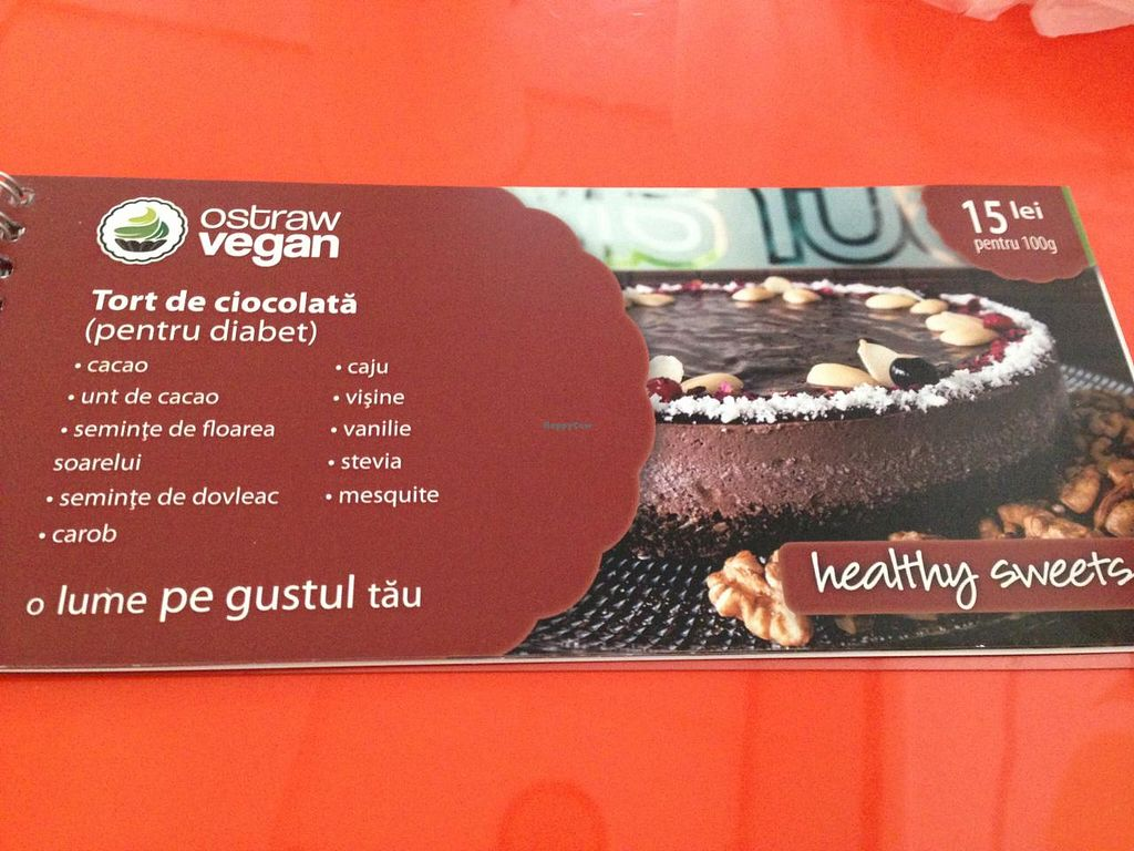 "Photo of Ostraw Vegan  by <a href=""/members/profile/veggieriga"">veggieriga</a> <br/>description of dessert from their catalog <br/> January 13, 2014  - <a href='/contact/abuse/image/35885/62437'>Report</a>"