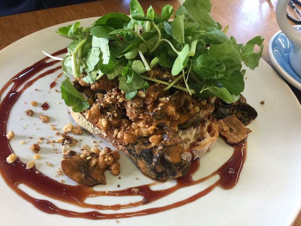 """Photo of Kokako  by <a href=""""/members/profile/Tiggy"""">Tiggy</a> <br/>Coconut cream mushrooms $19.50 - Walnut crumble makes it <br/> December 28, 2017  - <a href='/contact/abuse/image/35948/339749'>Report</a>"""