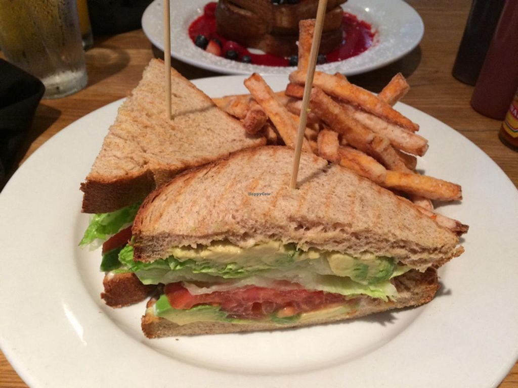 "Photo of Green Eggs Cafe  by <a href=""/members/profile/veggiehobbit"">veggiehobbit</a> <br/>vegan A.L.T with sweet potato fries <br/> July 5, 2015  - <a href='/contact/abuse/image/35994/108289'>Report</a>"