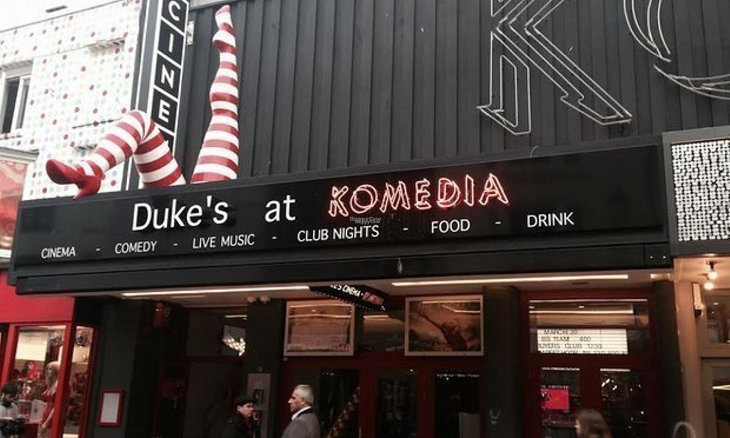 "Photo of REMOVED: Dukes at Komedia Cafe  by <a href=""/members/profile/Meaks"">Meaks</a> <br/>Dukes at Komedia <br/> August 2, 2016  - <a href='/contact/abuse/image/35998/164677'>Report</a>"