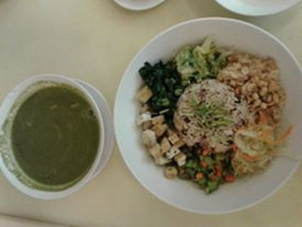 """Photo of Simple Life - KLCC  by <a href=""""/members/profile/sfalee"""">sfalee</a> <br/>擂茶糙米飯 Leicha Brown Rice <br/> June 21, 2016  - <a href='/contact/abuse/image/36004/155245'>Report</a>"""