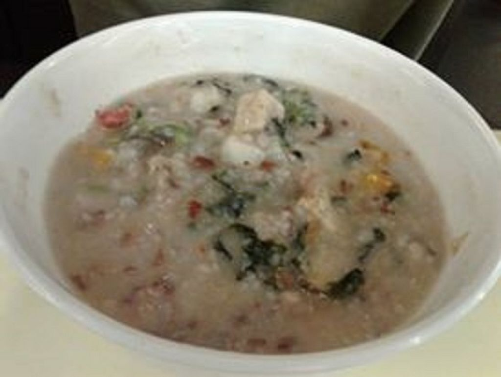 """Photo of Simple Life - KLCC  by <a href=""""/members/profile/sfalee"""">sfalee</a> <br/>五穀鹹粥 Five Grains Porridge <br/> June 21, 2016  - <a href='/contact/abuse/image/36004/155246'>Report</a>"""