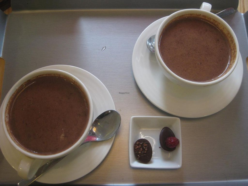 """Photo of Laurent Gerbaud Chocolatier  by <a href=""""/members/profile/jennyc32"""">jennyc32</a> <br/>Soy milk hot chocolate <br/> April 15, 2015  - <a href='/contact/abuse/image/36021/99157'>Report</a>"""