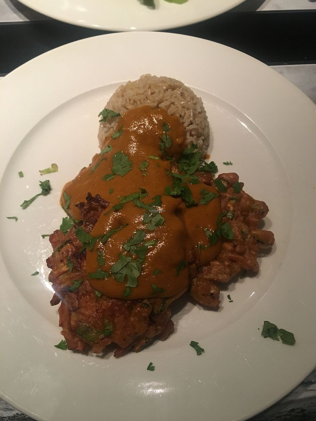 """Photo of Lady Green Bio-Vegetarian Restaurant  by <a href=""""/members/profile/KimMartin"""">KimMartin</a> <br/>Coconut curry <br/> September 2, 2017  - <a href='/contact/abuse/image/36048/300250'>Report</a>"""