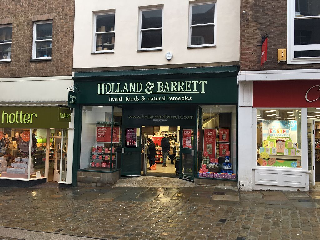 "Photo of Holland and Barrett  by <a href=""/members/profile/hack_man"">hack_man</a> <br/>Exterior  <br/> March 31, 2018  - <a href='/contact/abuse/image/36082/378874'>Report</a>"