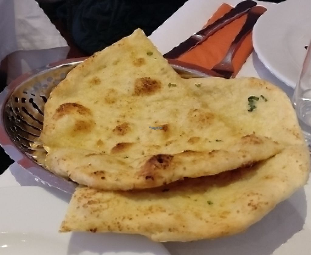 """Photo of Thali  by <a href=""""/members/profile/HappyOtto"""">HappyOtto</a> <br/>Garlic Naan <br/> February 11, 2017  - <a href='/contact/abuse/image/36086/244094'>Report</a>"""