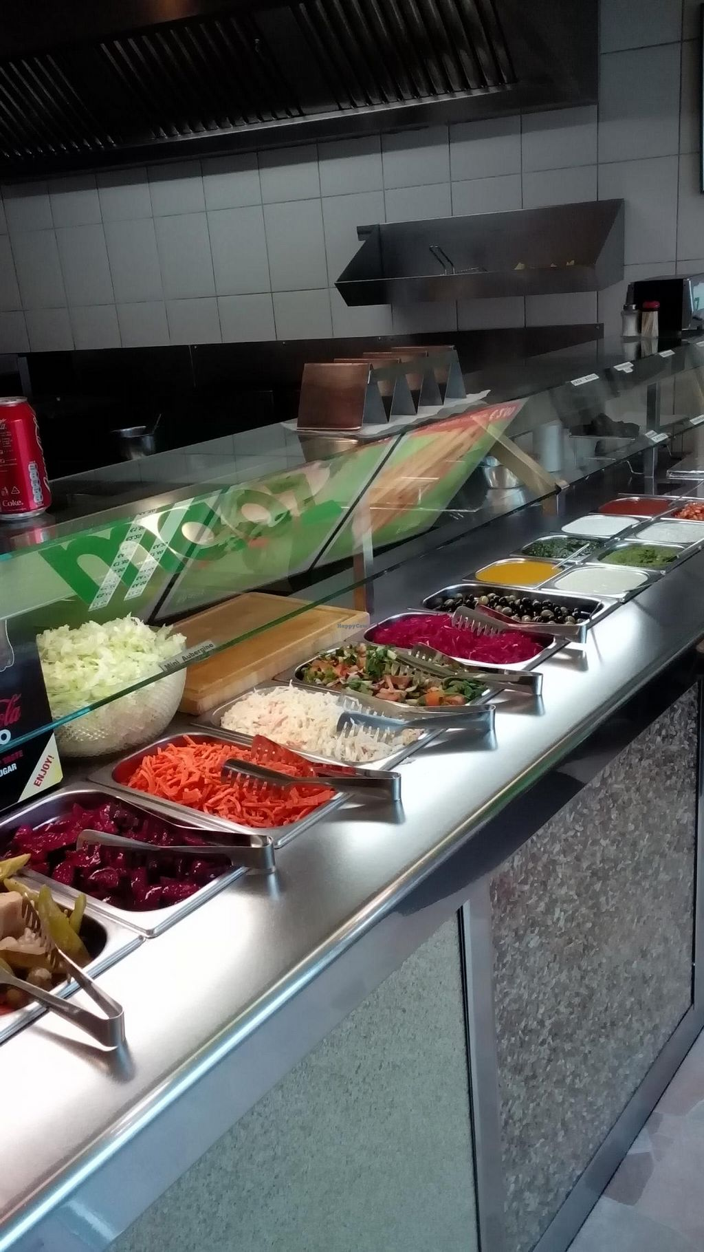 """Photo of Maoz Vegetarian  by <a href=""""/members/profile/Yilla"""">Yilla</a> <br/>veggie bar <br/> February 7, 2015  - <a href='/contact/abuse/image/36089/92464'>Report</a>"""