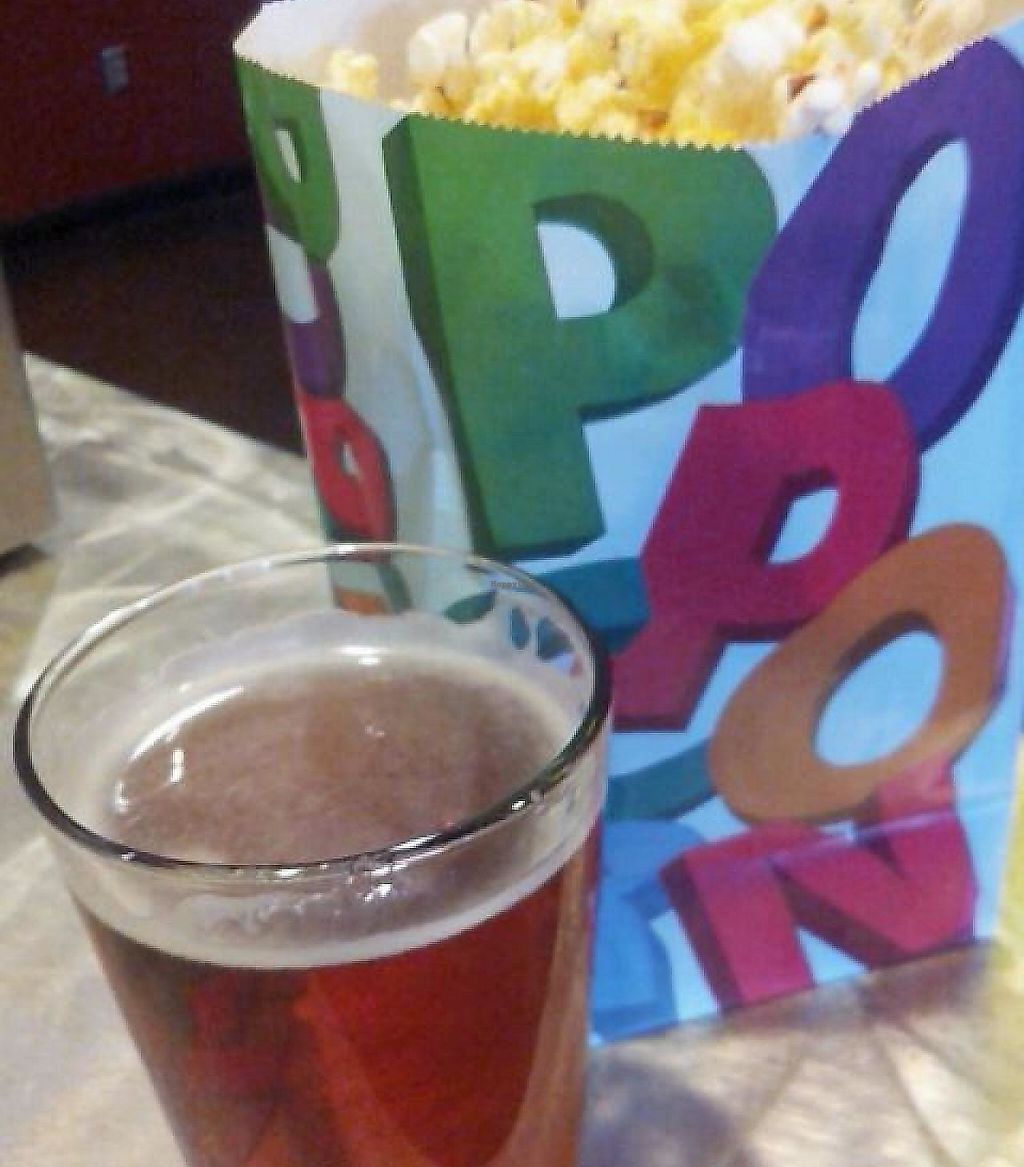 Photo of Brewvies Cinema Pub  by Navegante <br/>Beer and popcorn, July 2014 <br/> July 15, 2014  - <a href='/contact/abuse/image/36099/230600'>Report</a>