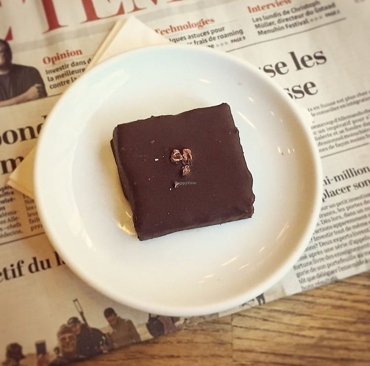 """Photo of Boreal Coffee Sho   by <a href=""""/members/profile/123emily"""">123emily</a> <br/>Vegan chocolate brownie <br/> March 18, 2018  - <a href='/contact/abuse/image/36111/372428'>Report</a>"""