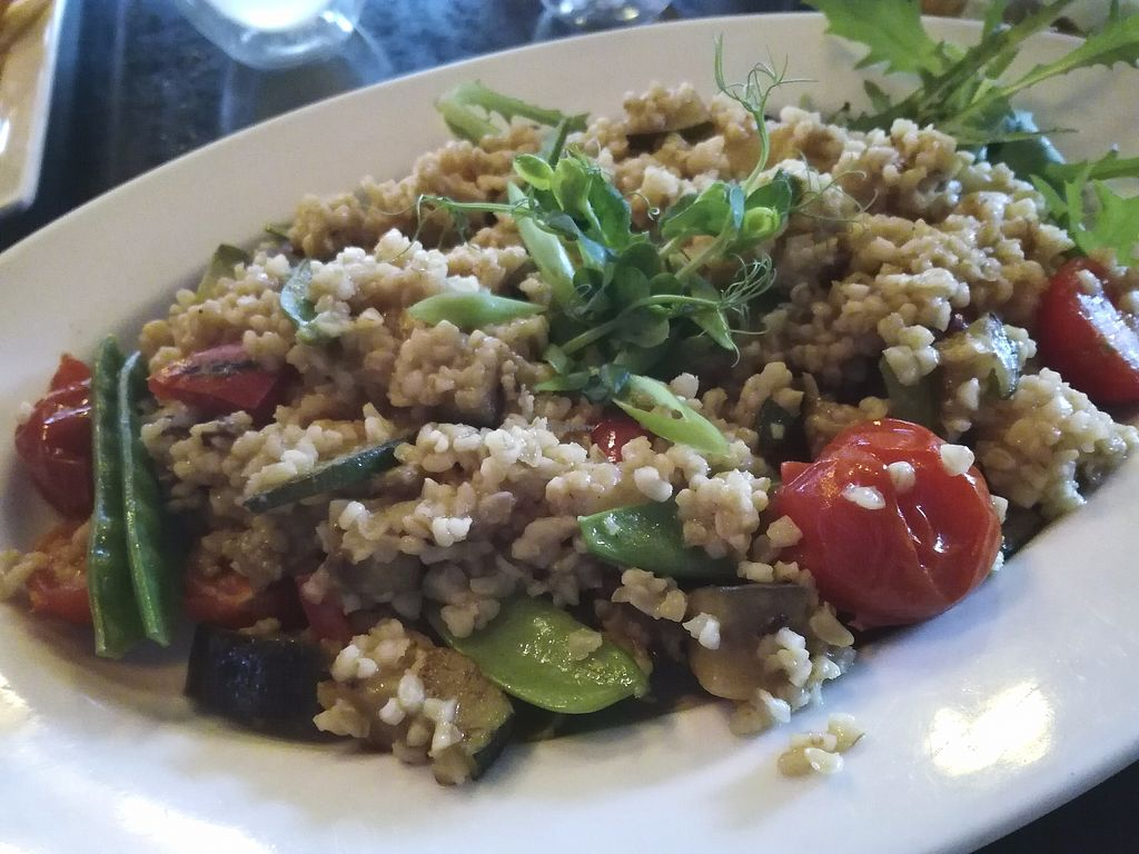 "Photo of Lidojosa Varde  by <a href=""/members/profile/ViktorijaGor"">ViktorijaGor</a> <br/>This was the vegetable-barley risotto. Very plain, messy and expensive.  <br/> September 25, 2017  - <a href='/contact/abuse/image/36123/308160'>Report</a>"