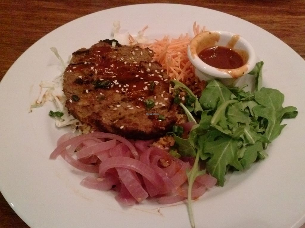 """Photo of Veggie Grill - Westwood  by <a href=""""/members/profile/Sonja%20and%20Dirk"""">Sonja and Dirk</a> <br/>Seoul bowl <br/> November 18, 2015  - <a href='/contact/abuse/image/36125/125380'>Report</a>"""