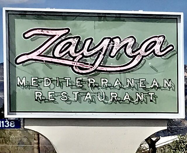 """Photo of Zayna Mediterranean  by <a href=""""/members/profile/OldPuebloVegan"""">OldPuebloVegan</a> <br/>A bit off the beaten path. Worth finding ! <br/> March 16, 2018  - <a href='/contact/abuse/image/36129/371540'>Report</a>"""