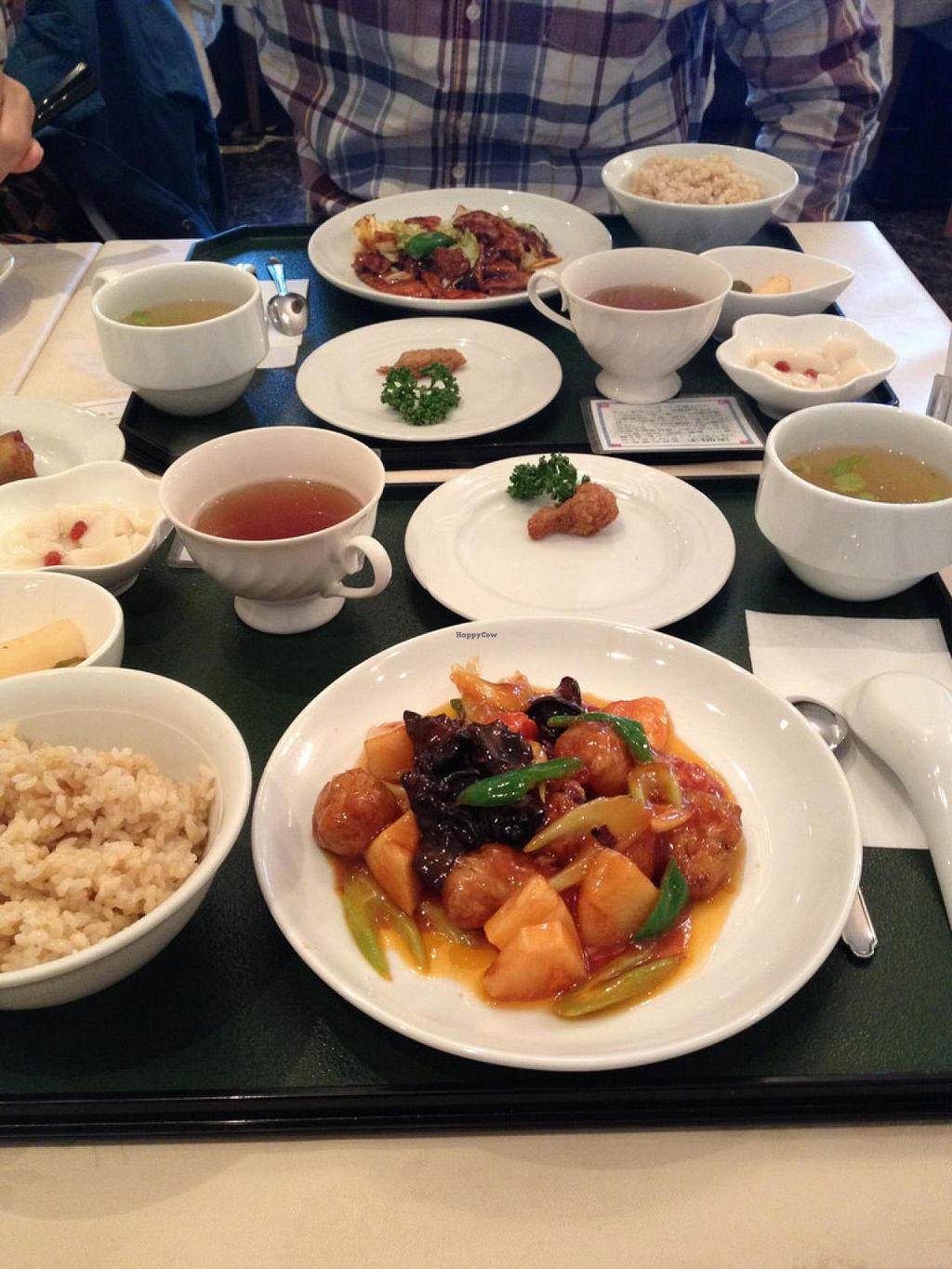 "Photo of Chien Fu  by <a href=""/members/profile/umebossy"">umebossy</a> <br/>Foreground - sweet and sour 'pork' lunch set, background - hui gou rou (twice cooked 'pork') lunch set <br/> March 8, 2014  - <a href='/contact/abuse/image/36159/65529'>Report</a>"