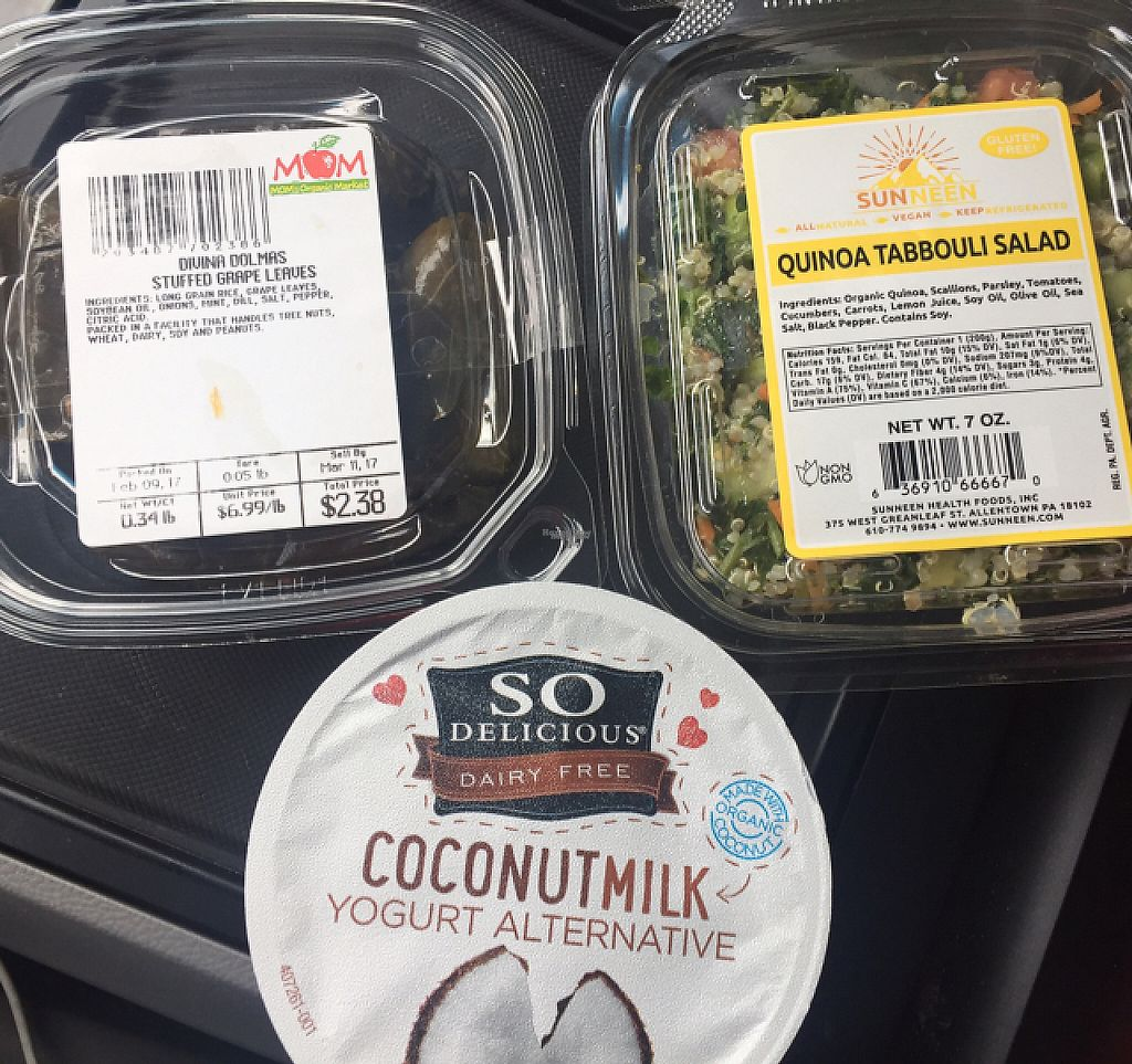 """Photo of MOM's Organic Market  by <a href=""""/members/profile/GMUGrad2002"""">GMUGrad2002</a> <br/>lunch to-go <br/> February 11, 2017  - <a href='/contact/abuse/image/36170/225358'>Report</a>"""