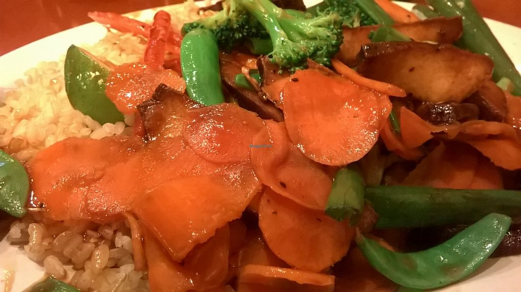 Photo of Pei Wei Asian Diner  by Navegante <br/>Thai Dynamite with tofu, Oct 2015.
