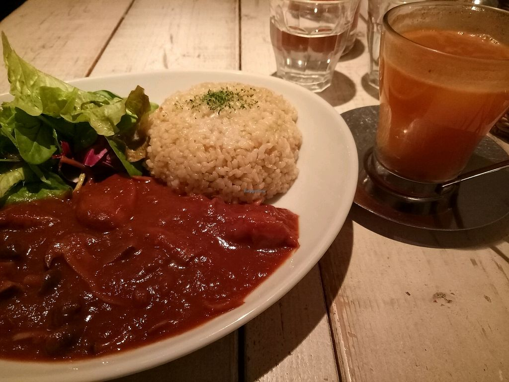 "Photo of Ain Soph.Journey  by <a href=""/members/profile/MrsBullion"">MrsBullion</a> <br/>Mushroom curry & orange cocktail!  <br/> November 29, 2017  - <a href='/contact/abuse/image/36193/330374'>Report</a>"