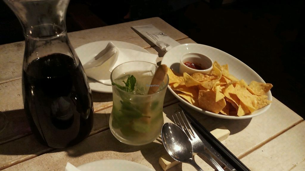 "Photo of Ain Soph.Journey  by <a href=""/members/profile/DonKnox"">DonKnox</a> <br/>red wine, mojito and chips with salsa   <br/> March 18, 2018  - <a href='/contact/abuse/image/36193/372347'>Report</a>"