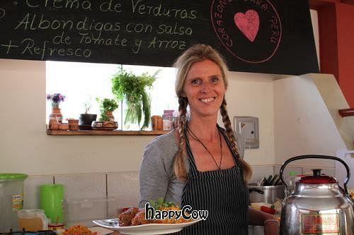 "Photo of Comer con Corazon  by <a href=""/members/profile/CorazonesParaPeru"">CorazonesParaPeru</a> <br/>Kerstin, el chef de 'Comer con Corazón' <br/> January 15, 2013  - <a href='/contact/abuse/image/36219/42957'>Report</a>"