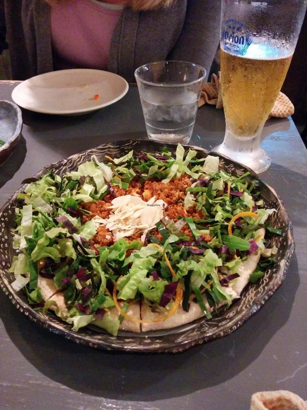 """Photo of Ukishima Garden  by <a href=""""/members/profile/kim2121"""">kim2121</a> <br/>Taco Rice Pizza at Ukishima Garden <br/> July 14, 2014  - <a href='/contact/abuse/image/36263/74038'>Report</a>"""