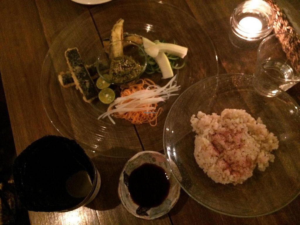 "Photo of Ukishima Garden  by <a href=""/members/profile/LiaTraballero"">LiaTraballero</a> <br/>Self rolling veg sushi <br/> November 18, 2014  - <a href='/contact/abuse/image/36263/85970'>Report</a>"