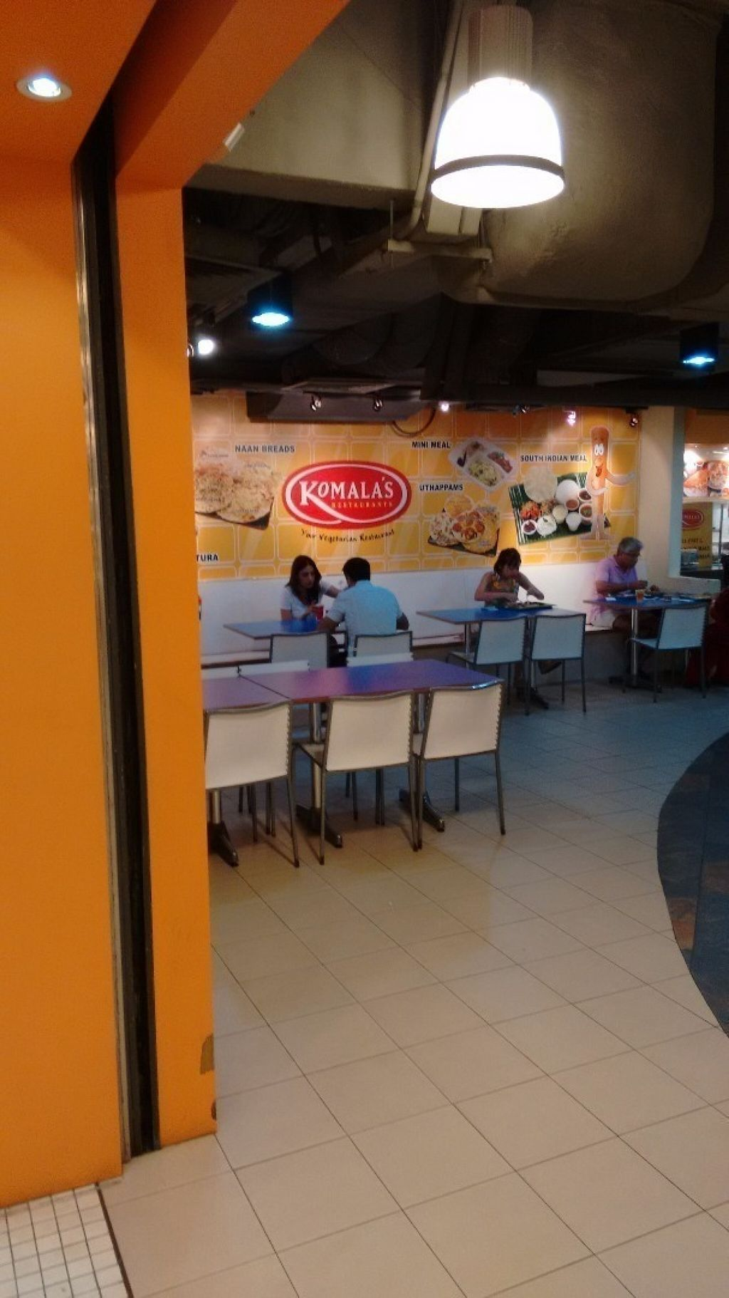 """Photo of Komala's Restaurant - Tanglin Mall  by <a href=""""/members/profile/craigmc"""">craigmc</a> <br/>Right inside the food hall <br/> July 17, 2016  - <a href='/contact/abuse/image/36273/160457'>Report</a>"""