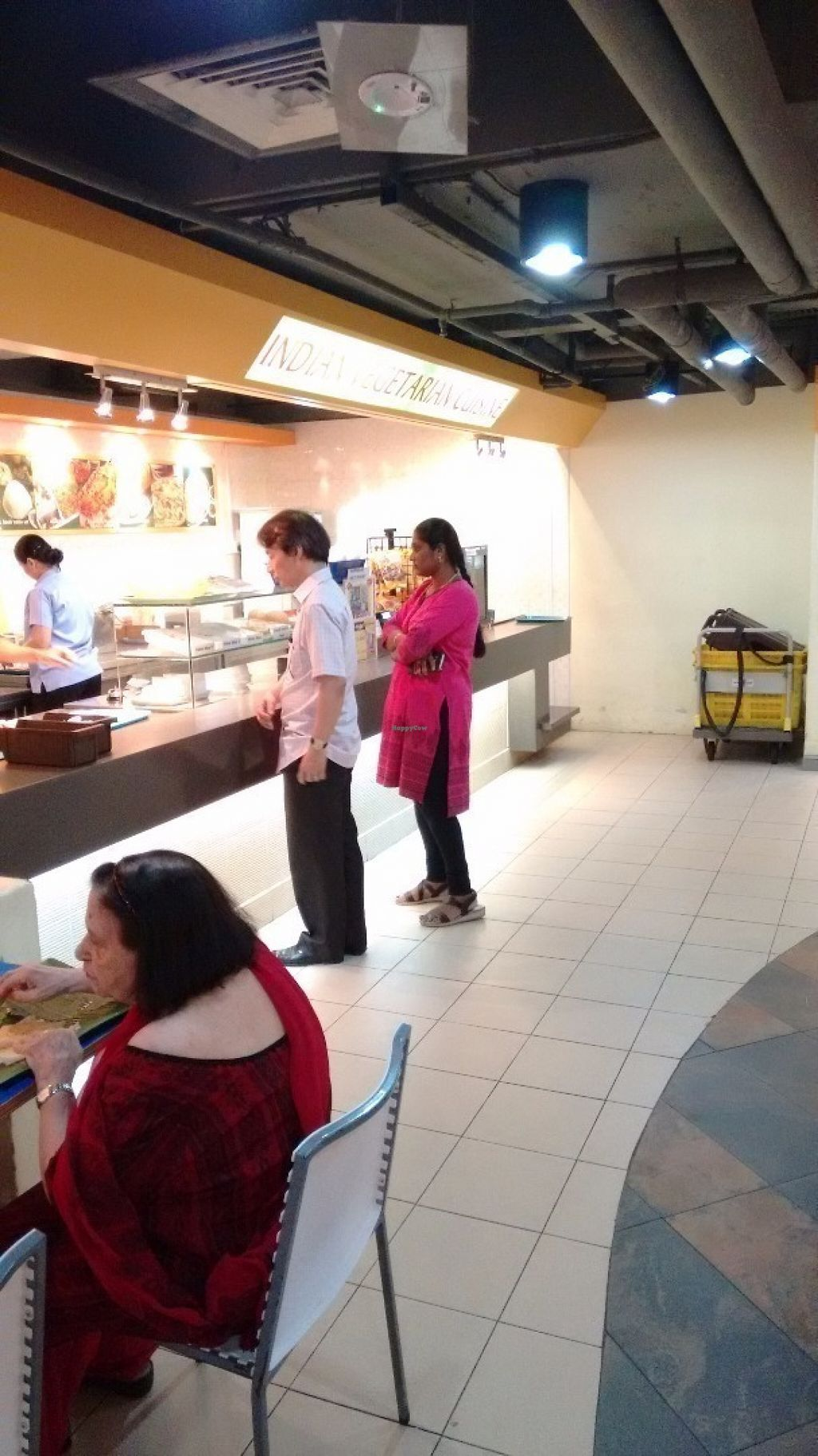"""Photo of Komala's Restaurant - Tanglin Mall  by <a href=""""/members/profile/craigmc"""">craigmc</a> <br/>Serving counter <br/> July 17, 2016  - <a href='/contact/abuse/image/36273/160459'>Report</a>"""