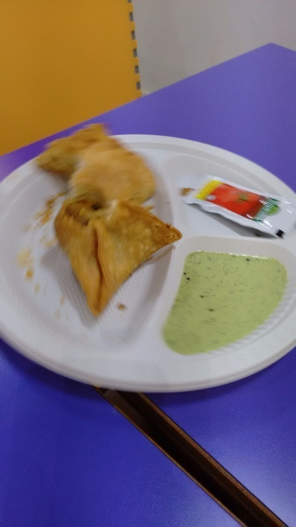 """Photo of Komala's Restaurant - Tanglin Mall  by <a href=""""/members/profile/craigmc"""">craigmc</a> <br/>Samosa and curry puff <br/> July 17, 2016  - <a href='/contact/abuse/image/36273/160460'>Report</a>"""