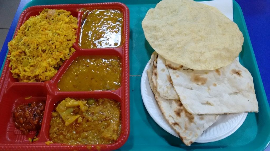 """Photo of Komala's Restaurant - Tanglin Mall  by <a href=""""/members/profile/craigmc"""">craigmc</a> <br/>North Indian meal <br/> July 17, 2016  - <a href='/contact/abuse/image/36273/160461'>Report</a>"""