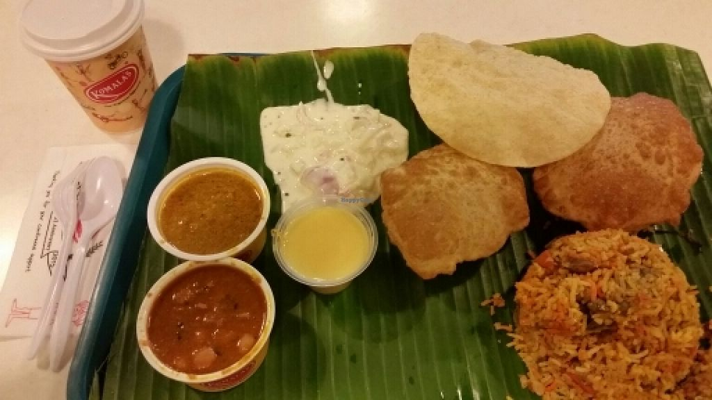 "Photo of Komala's Restaurant - Chevron House  by <a href=""/members/profile/JimmySeah"">JimmySeah</a> <br/>Nasi Briyani with puri set <br/> February 3, 2016  - <a href='/contact/abuse/image/36277/134816'>Report</a>"