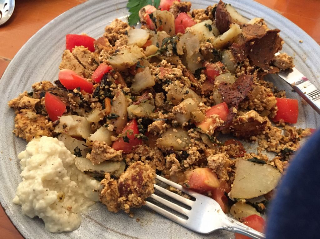 """Photo of Voula's Greek Sweets  by <a href=""""/members/profile/TracyV600"""">TracyV600</a> <br/>the Vegan Samos plate - absolutely delicious!  <br/> October 3, 2015  - <a href='/contact/abuse/image/36305/119968'>Report</a>"""