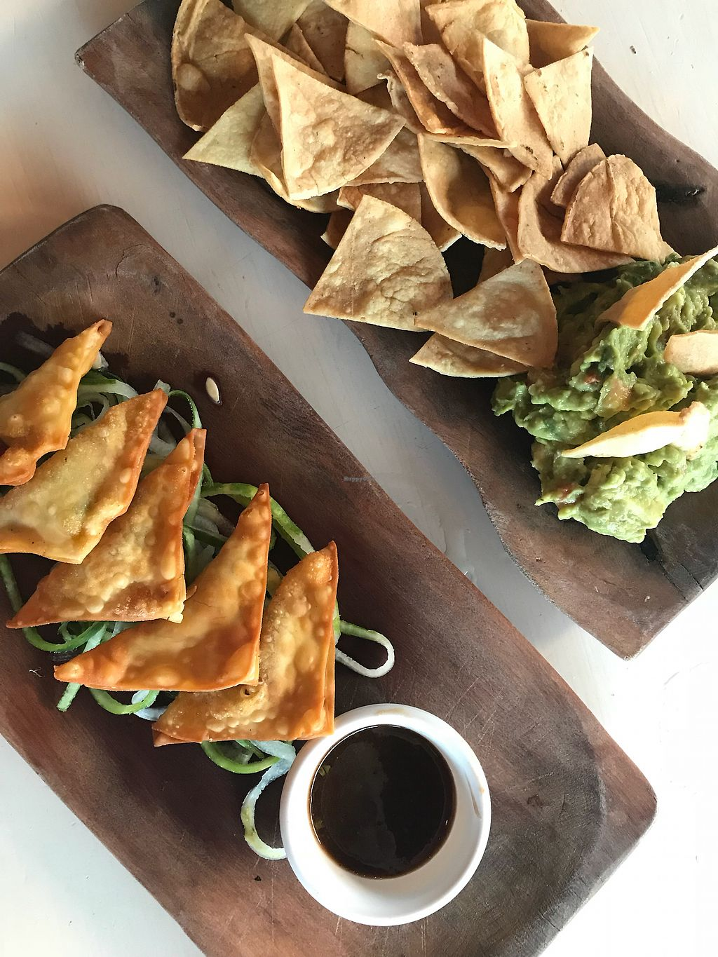 """Photo of La Hoja Verde  by <a href=""""/members/profile/KatjaValentinaKramp"""">KatjaValentinaKramp</a> <br/>Homemade guacamole and empanadas  <br/> March 3, 2018  - <a href='/contact/abuse/image/36309/365964'>Report</a>"""