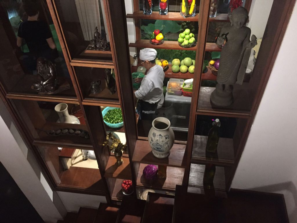 """Photo of Hum Vegetarian - District 3  by <a href=""""/members/profile/SusanRoberts"""">SusanRoberts</a> <br/>kitchen <br/> August 1, 2016  - <a href='/contact/abuse/image/36320/164124'>Report</a>"""