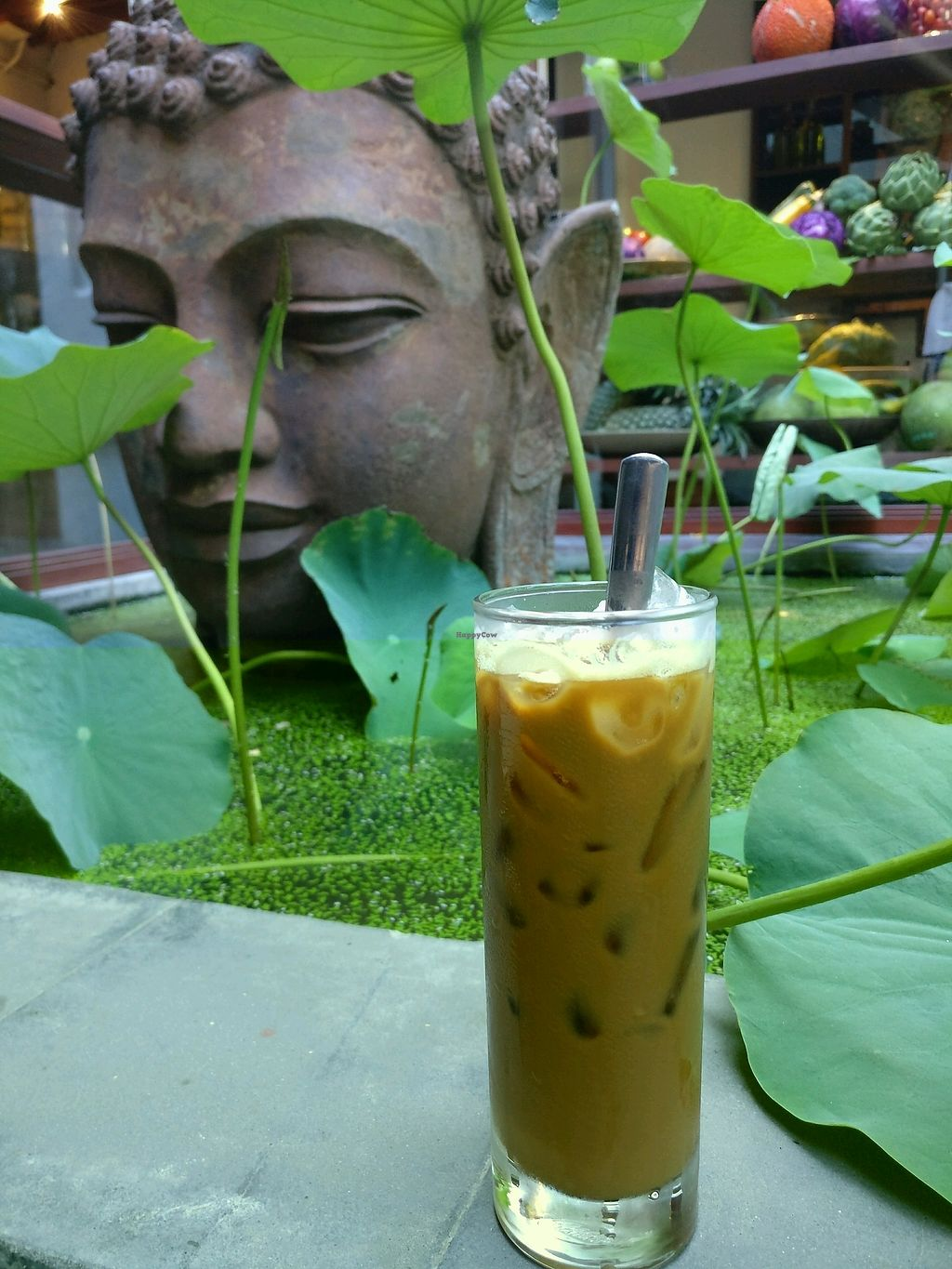 """Photo of Hum Vegetarian - District 3  by <a href=""""/members/profile/cdnvegan"""">cdnvegan</a> <br/>Vietnamese coffee  <br/> February 24, 2018  - <a href='/contact/abuse/image/36320/363135'>Report</a>"""