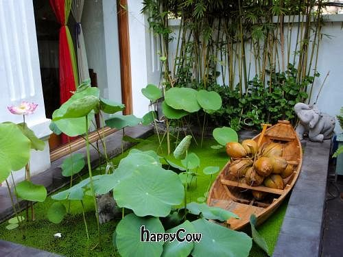 """Photo of Hum Vegetarian - District 3  by <a href=""""/members/profile/ArtinHeaven"""">ArtinHeaven</a> <br/>Tranquil oasis - Hum Restaurant has outside seating as well as A/C and non-A/C areas <br/> March 31, 2013  - <a href='/contact/abuse/image/36320/46326'>Report</a>"""
