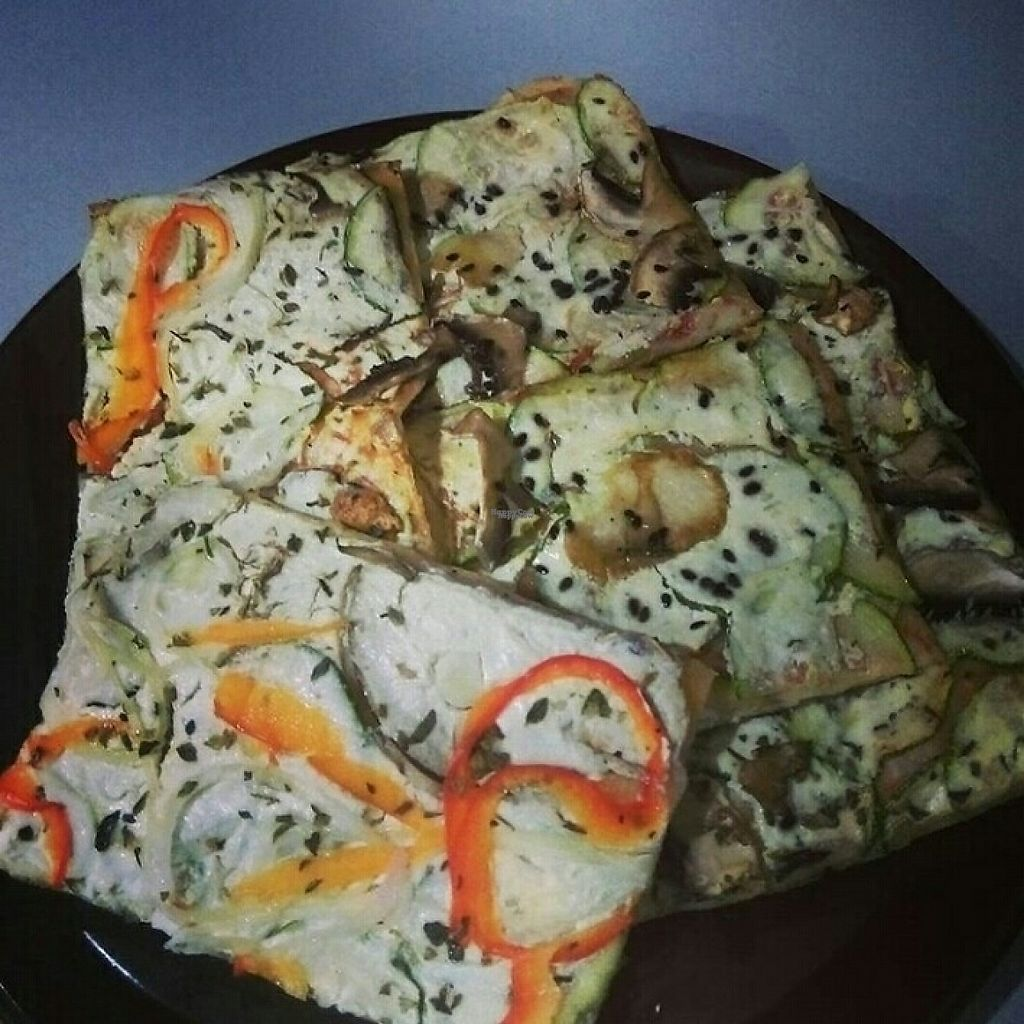 """Photo of Primo Basilico  by <a href=""""/members/profile/CetoniaAurata"""">CetoniaAurata</a> <br/>Vegan Pizza slices <br/> March 27, 2017  - <a href='/contact/abuse/image/36324/241842'>Report</a>"""
