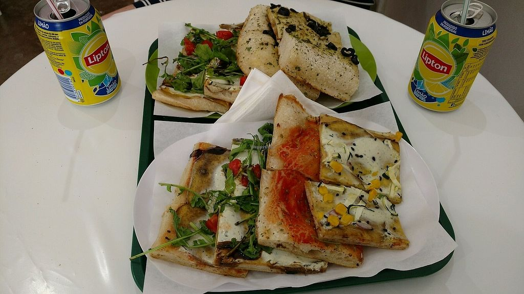 """Photo of Primo Basilico  by <a href=""""/members/profile/esle"""">esle</a> <br/>best vegan pizza and foccacia ever!  <br/> October 18, 2017  - <a href='/contact/abuse/image/36324/316277'>Report</a>"""